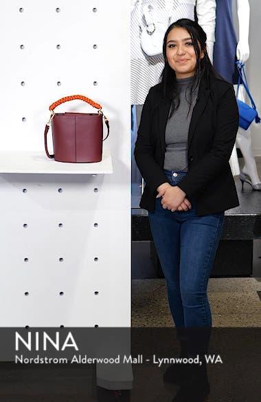 Zane Leather Bucket Bag, sales video thumbnail