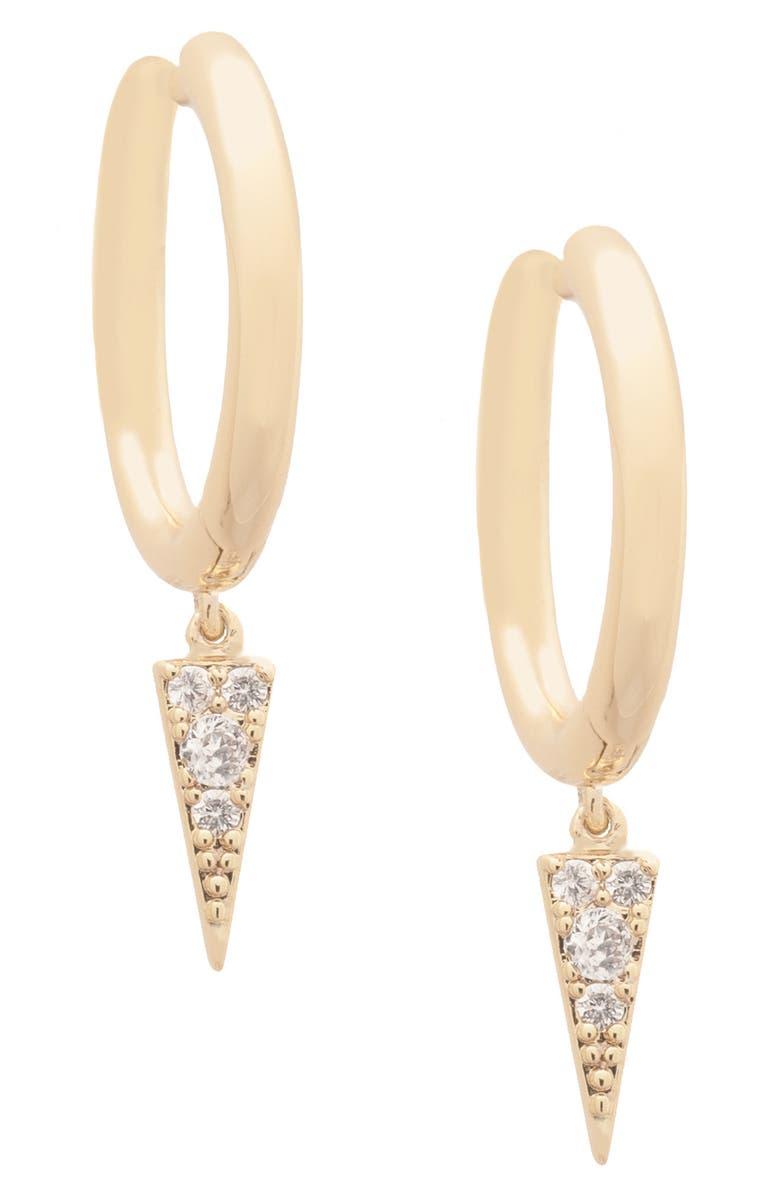 UNCOMMON JAMES BY KRISTIN CAVALLARI Harlem Hoop Earrings, Main, color, GOLD