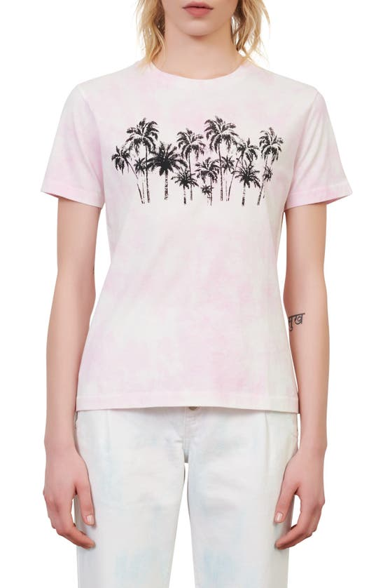 MAJE T-shirts TAXI GRAPHIC TEE