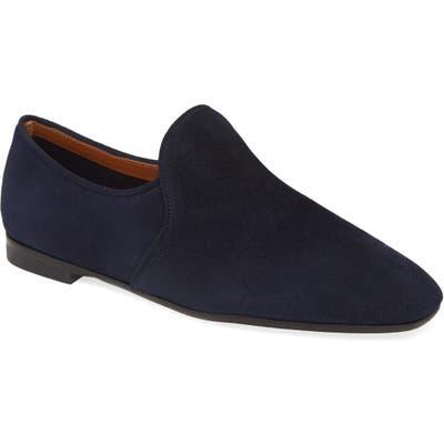 Aquatalia Revvy Weatherproof Loafer- Blue