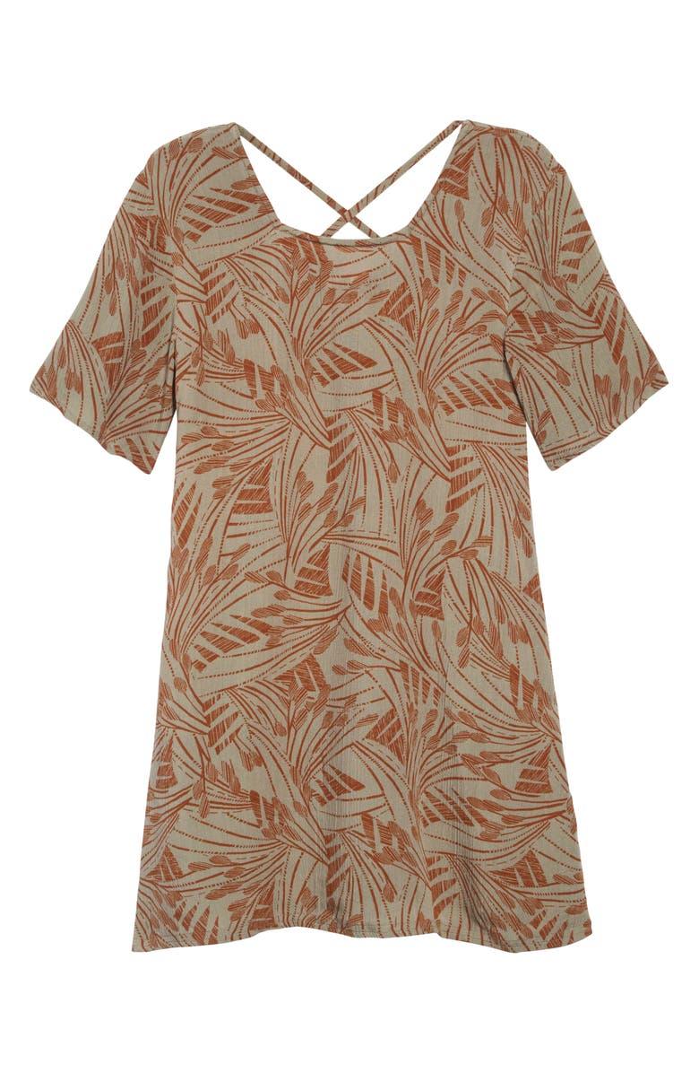 O'NEILL Mandolin Woven Dress, Main, color, FOG