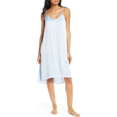 Papinelle Silk Nightgown, Blue