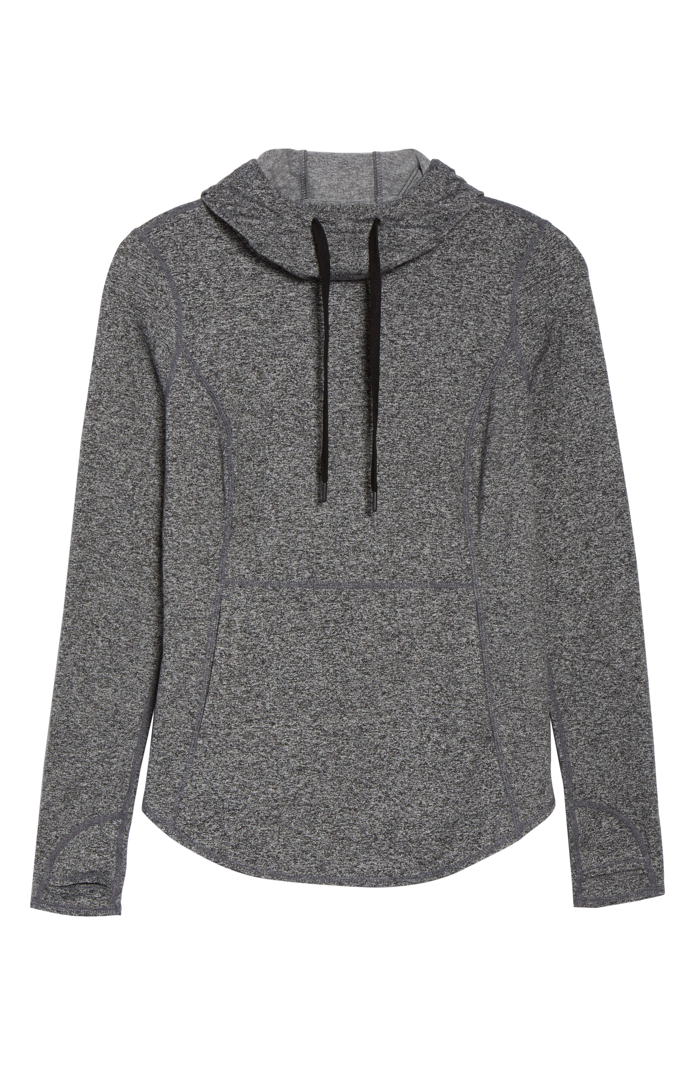 ,                             Taryn Ultrasoft Recycled Pullover Hoodie,                             Alternate thumbnail 7, color,                             001