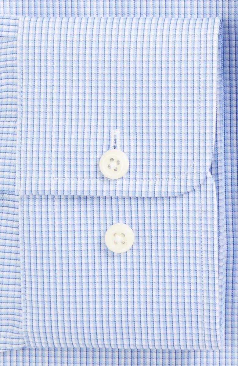 DAVID DONAHUE Slim Fit Check Dress Shirt, Main, color, 423