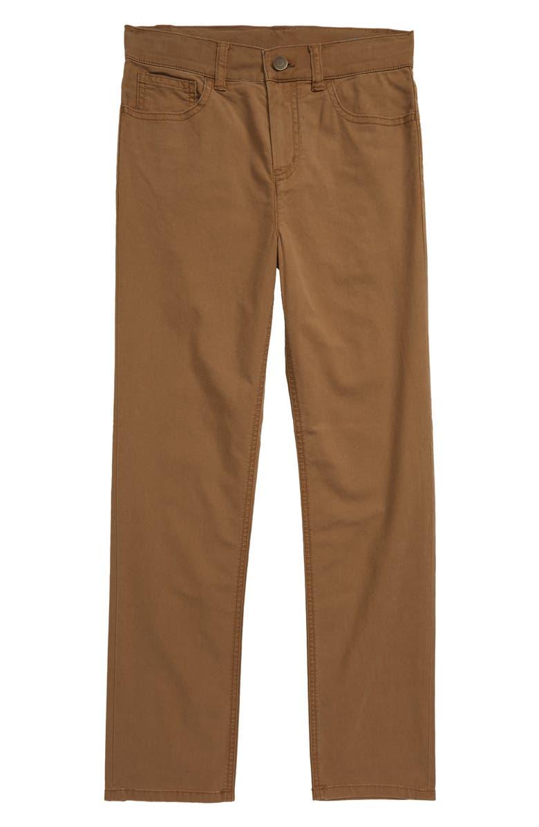 VINEYARD VINES 5-Pocket Canvas Pants, Main, color, OTTER