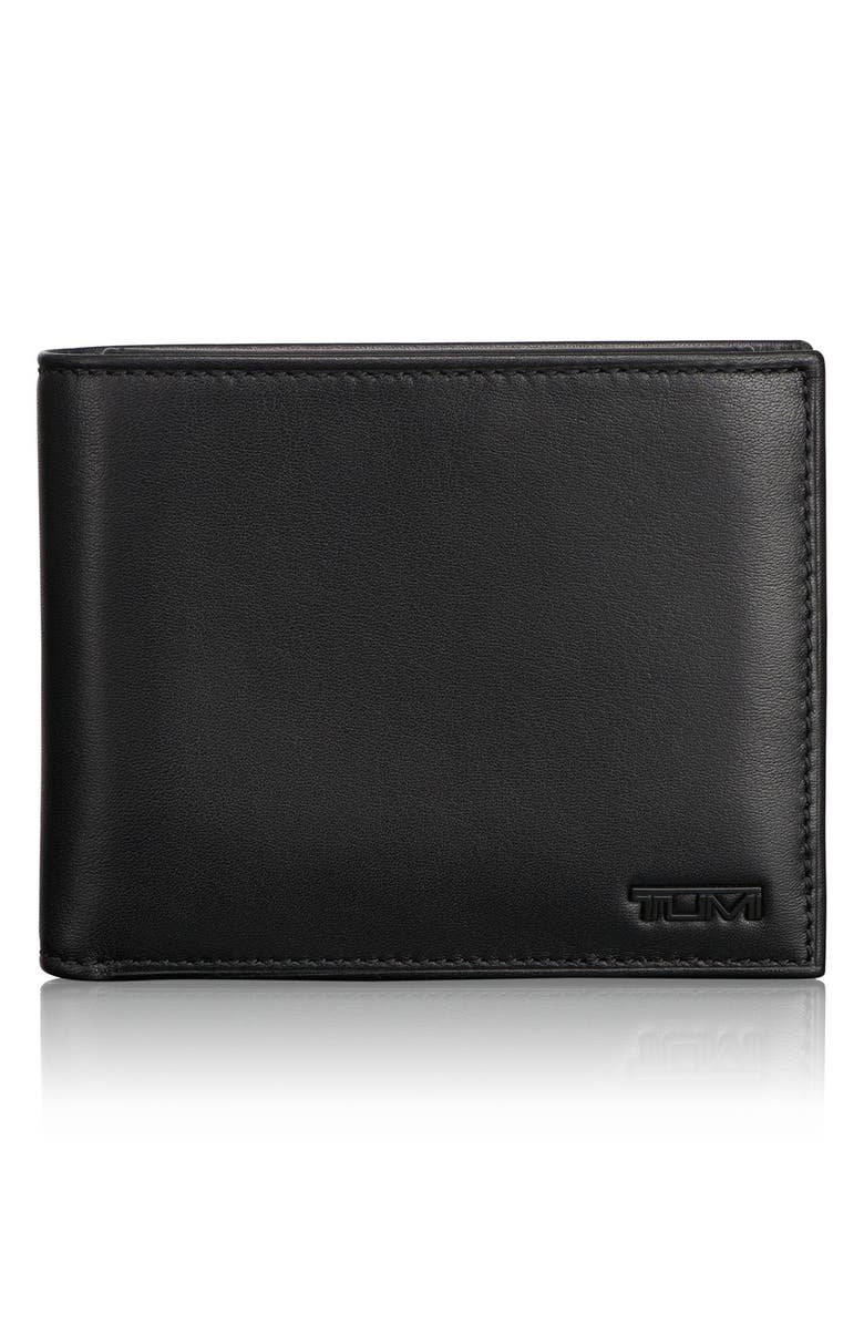 TUMI Delta Global - ID Lock<sup>™</sup> Shielded Removable Passcase ID Wallet, Main, color, BLACK