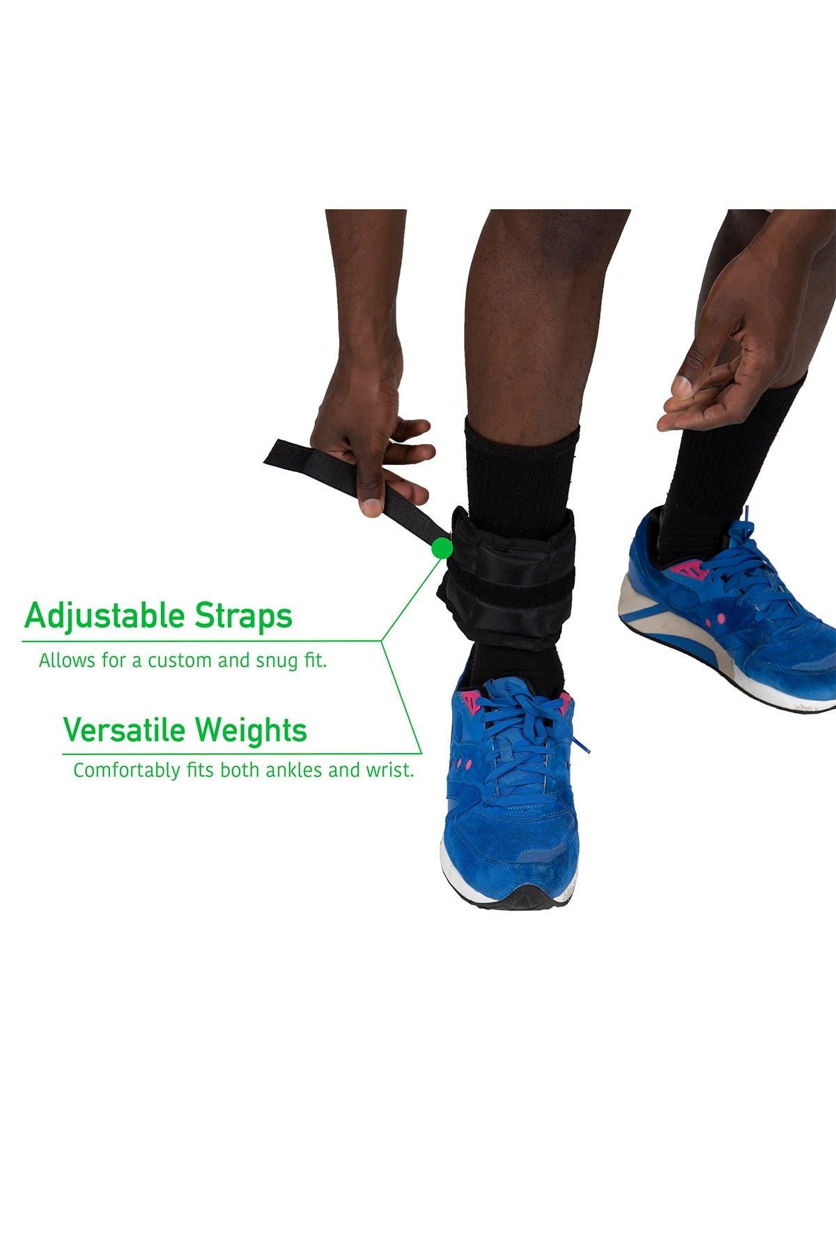 Image of MIND READER 2 lb Adjustable Ankle & Wrist Weights - Set of 2