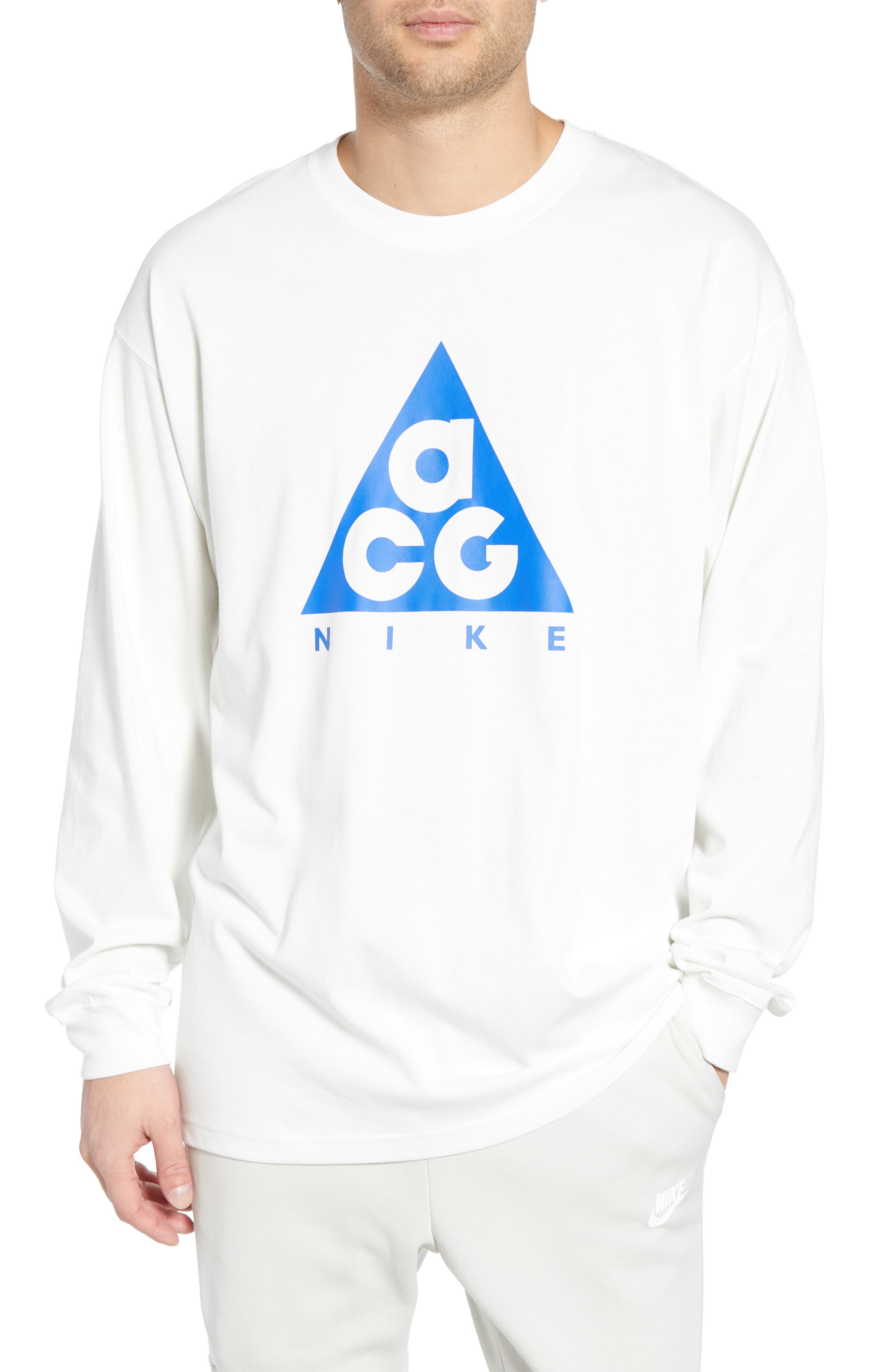 Nike Nrg All Conditions Gear Logo T-Shirt, White