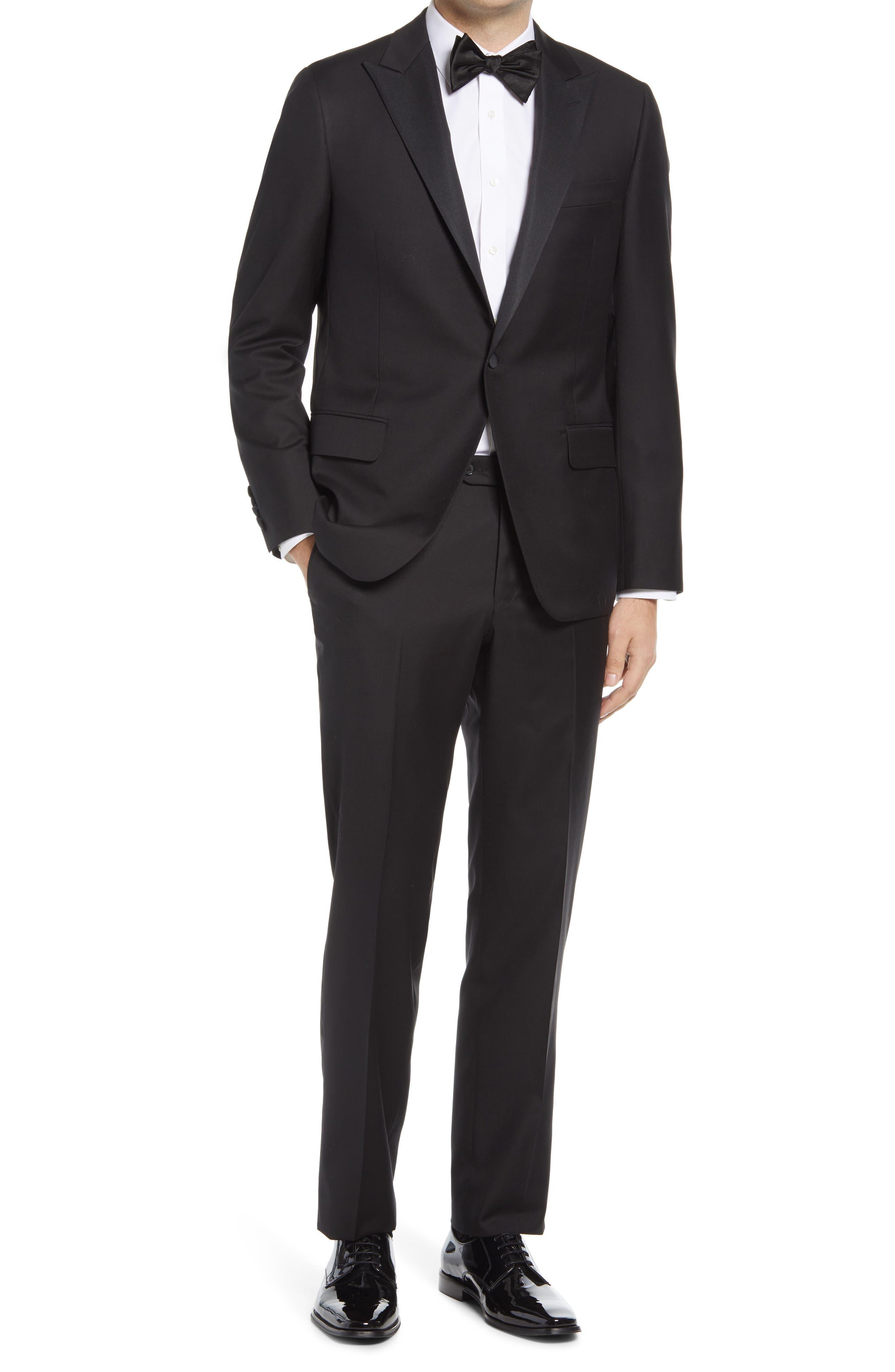 Classic Fit Wool Tuxedo