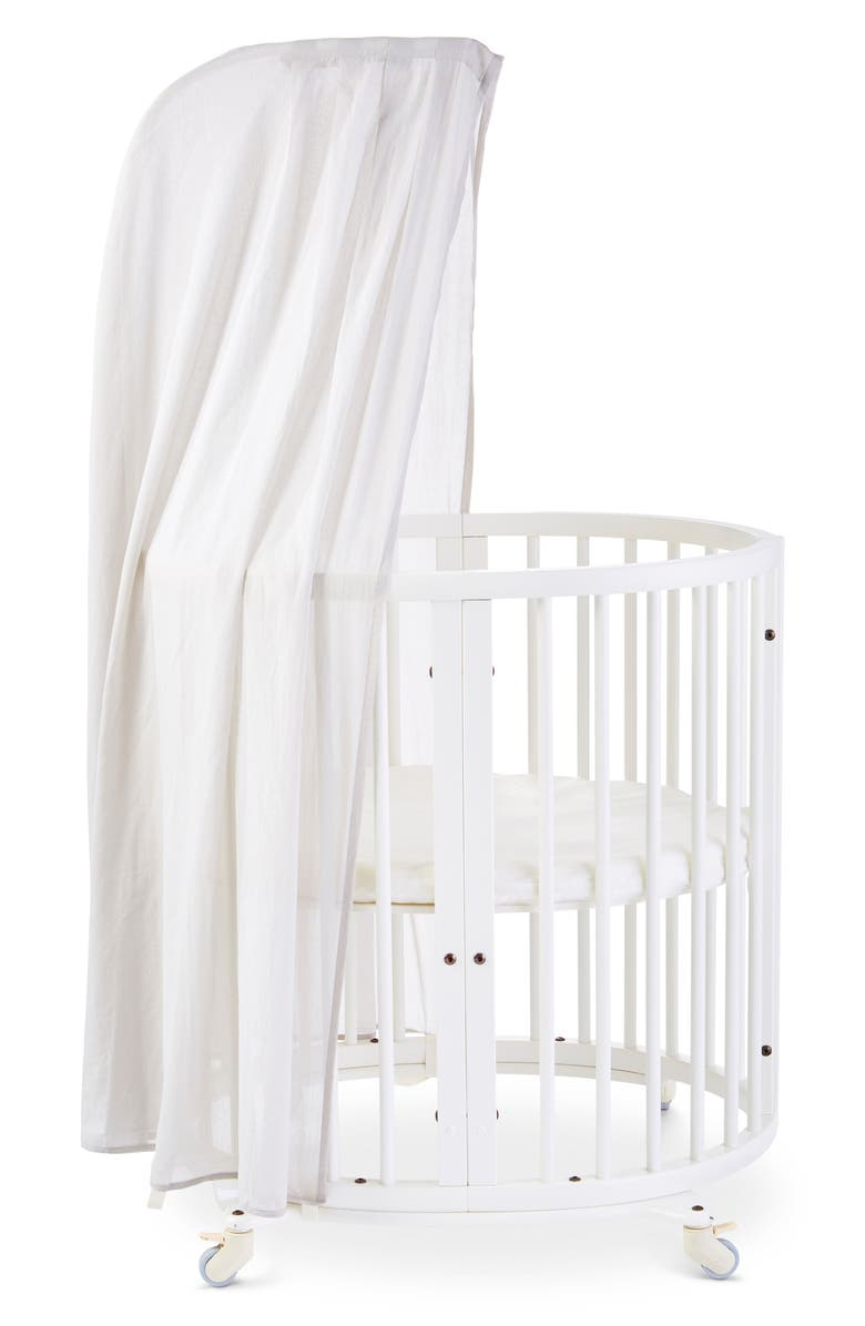 STOKKE Organic Cotton Canopy for Sleepi Cribs, Main, color, GREY