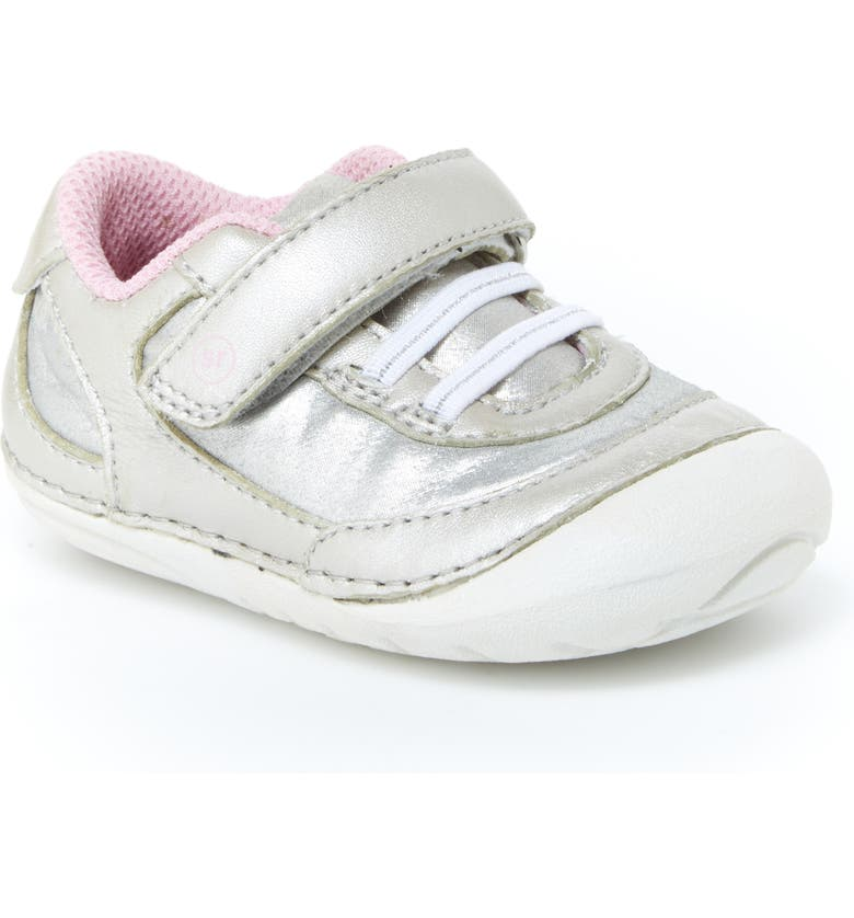 STRIDE RITE Jazzy Soft Motion<sup>™</sup> Sneaker, Main, color, SILVER