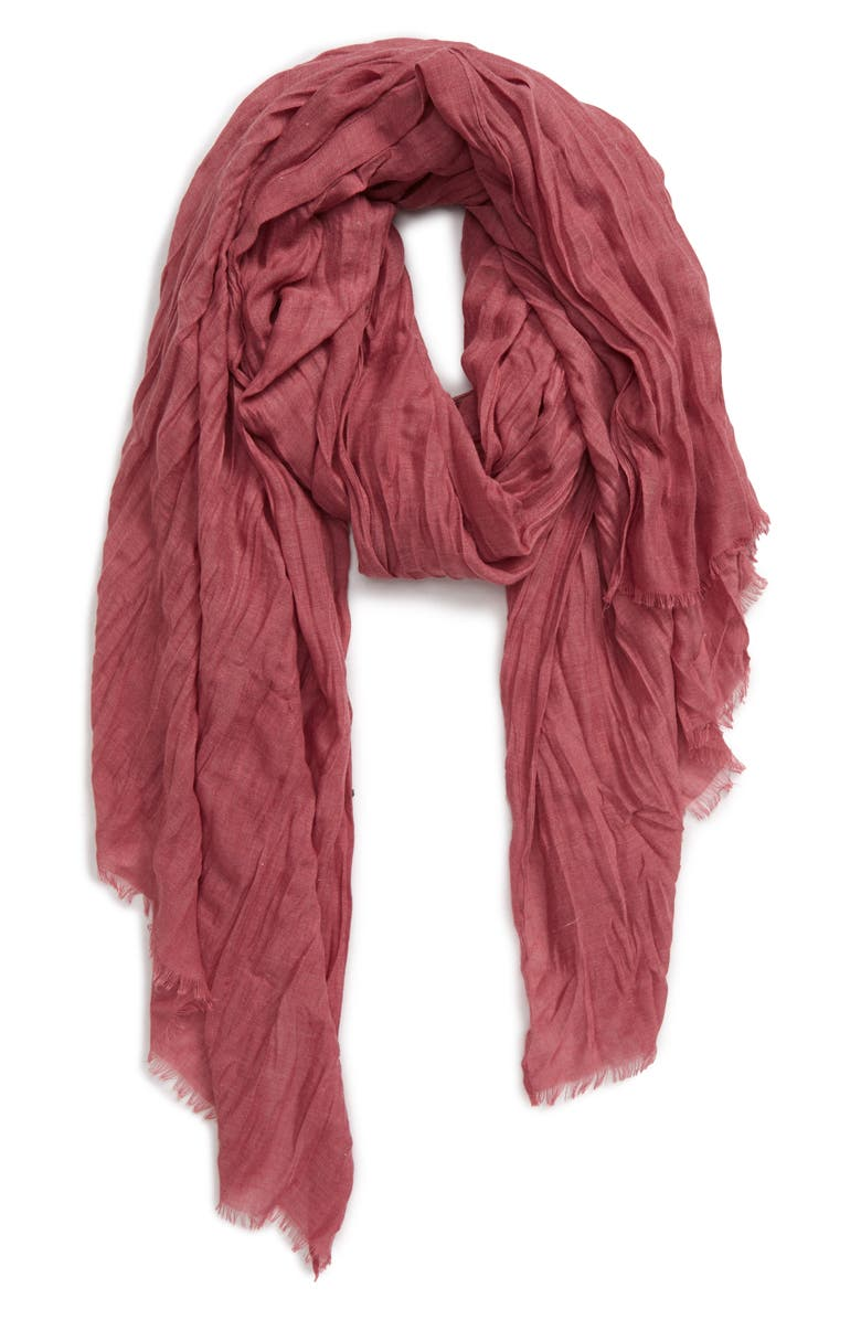 SOLE SOCIETY Scarf, Main, color, BERRY