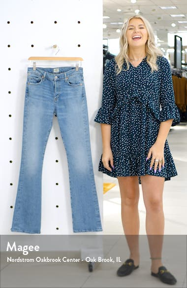 Citizen of Humanity Emanuelle Slim Bootcut Jeans, sales video thumbnail