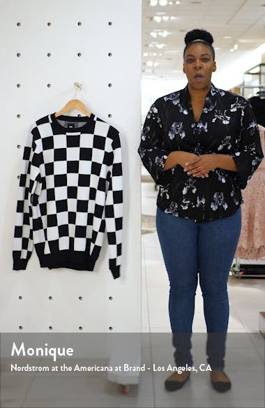 Checker Sweater, sales video thumbnail