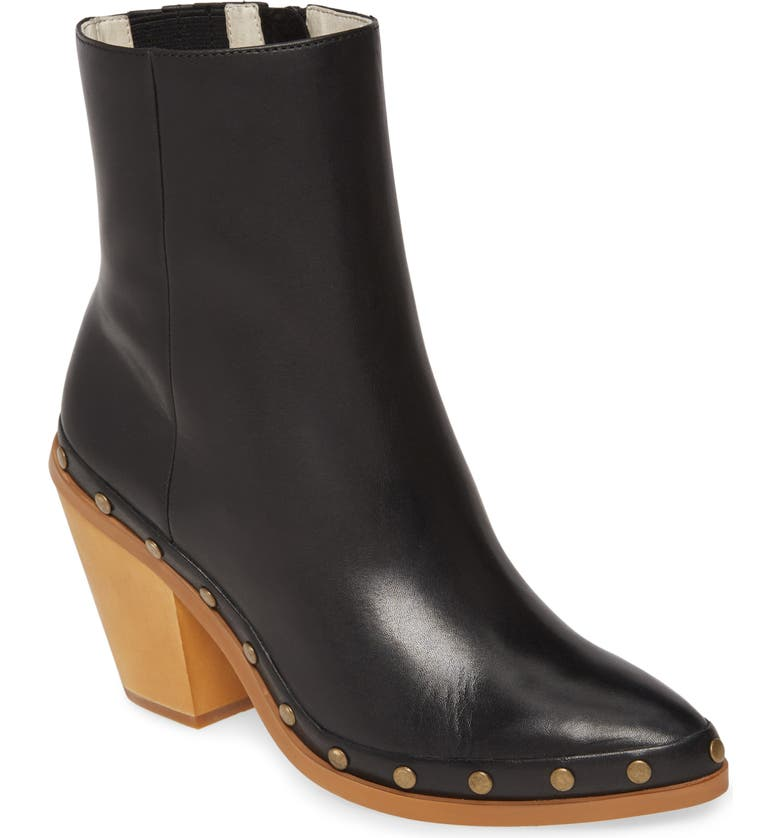 BAND OF GYPSIES Empire Bootie, Main, color, BLACK LEATHER