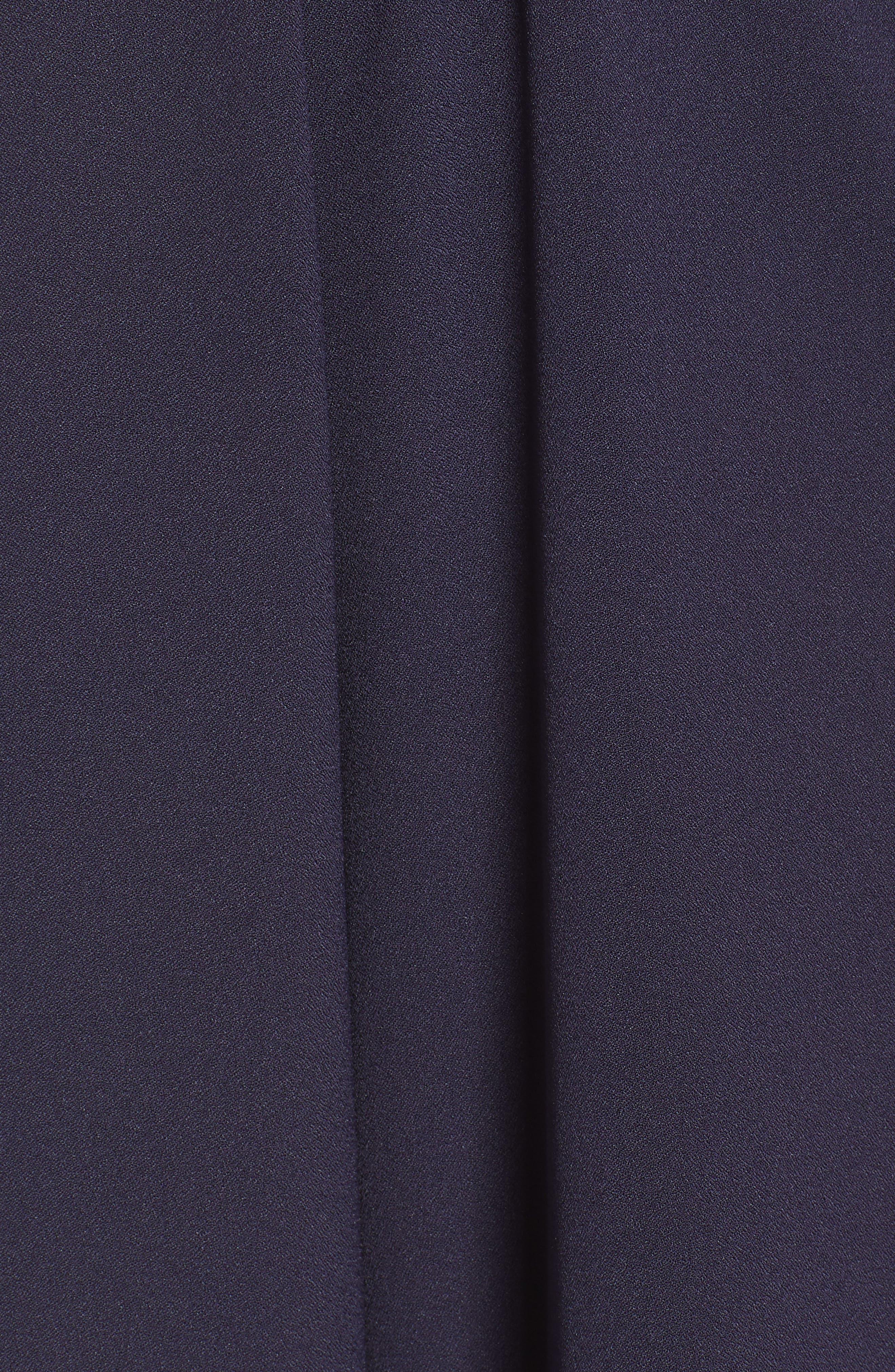 ,                             Tie Waist Jumpsuit,                             Alternate thumbnail 6, color,                             NAVY