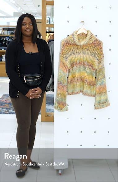 Ombré Turtleneck Sweater, sales video thumbnail