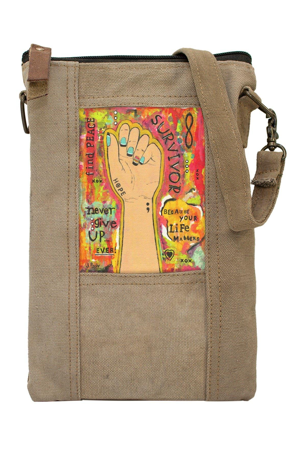 Image of Vintage Addiction Survivor Tent Crossbody Bag