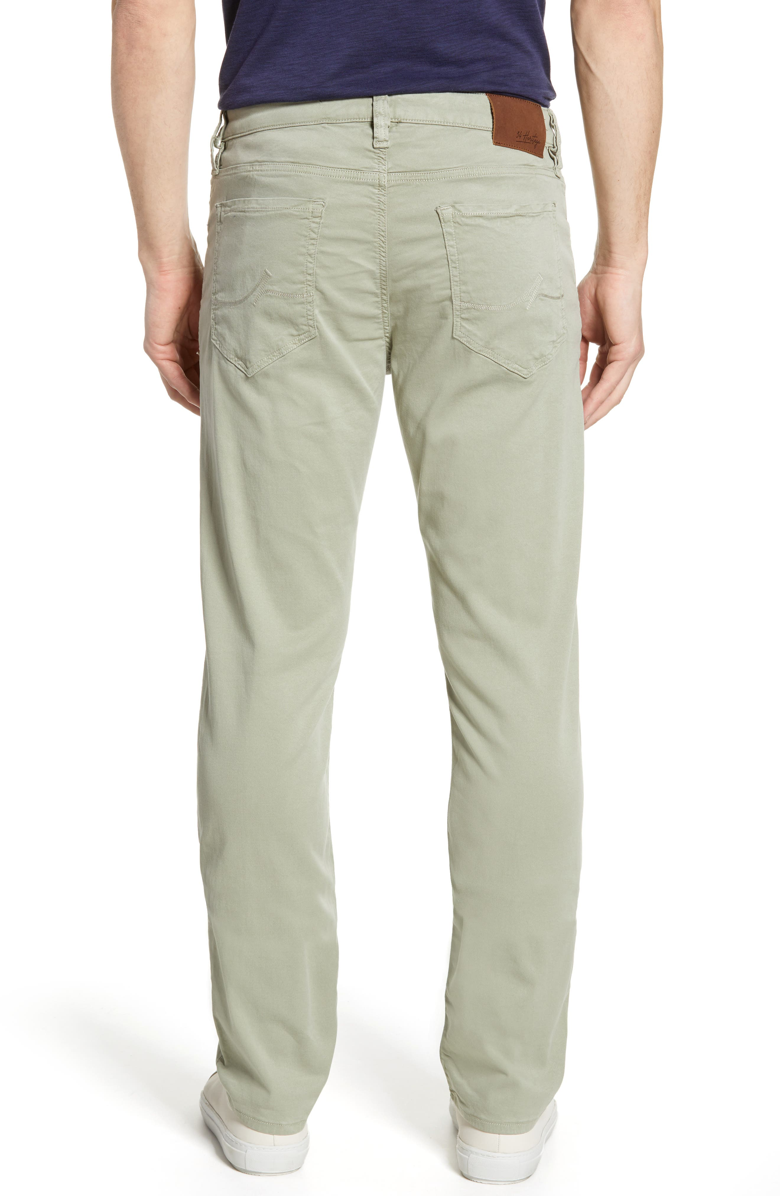 ,                             Courage Straight Leg Jeans,                             Alternate thumbnail 2, color,                             SAGE SOFT TOUCH