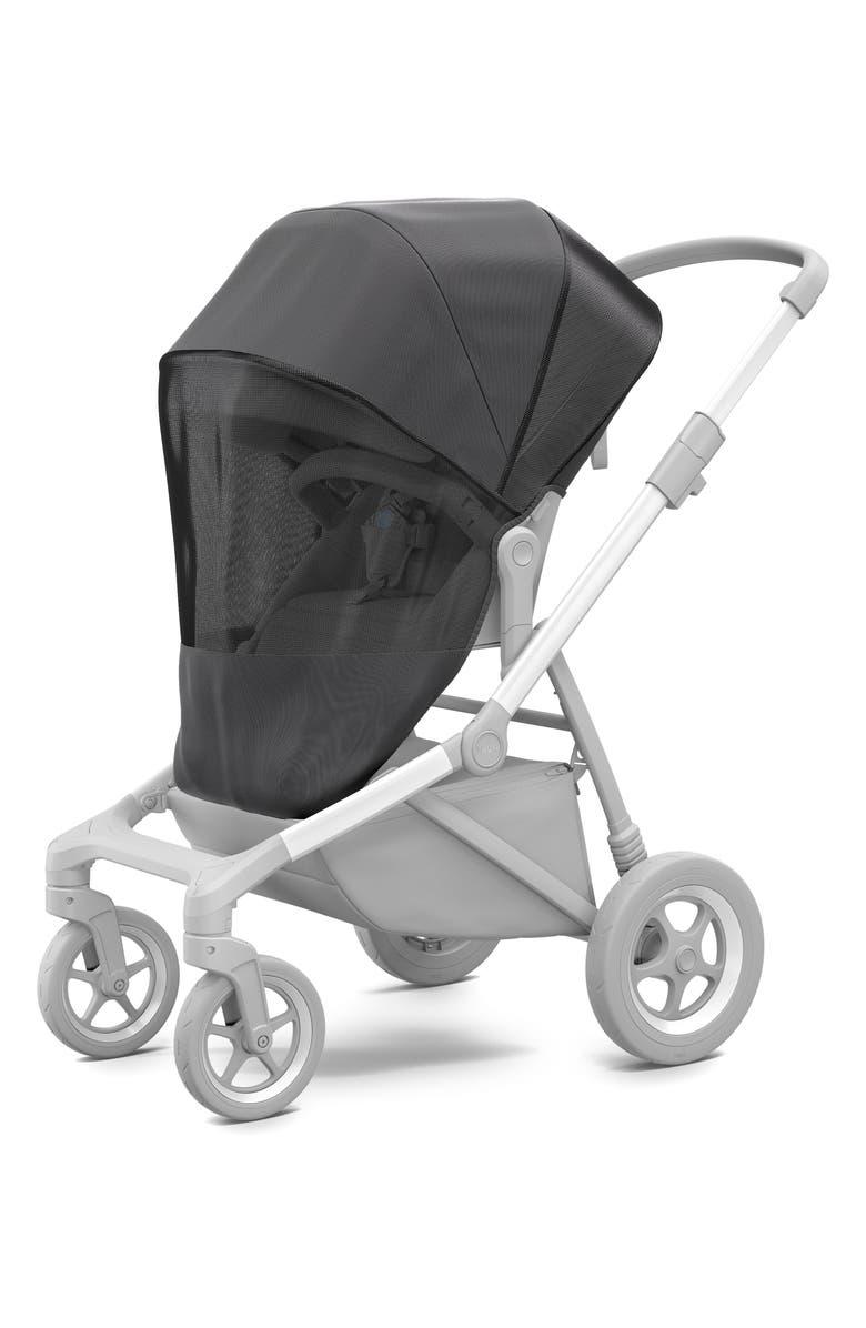 THULE Mesh Cover for Thule Sleek Stroller, Main, color, BLACK