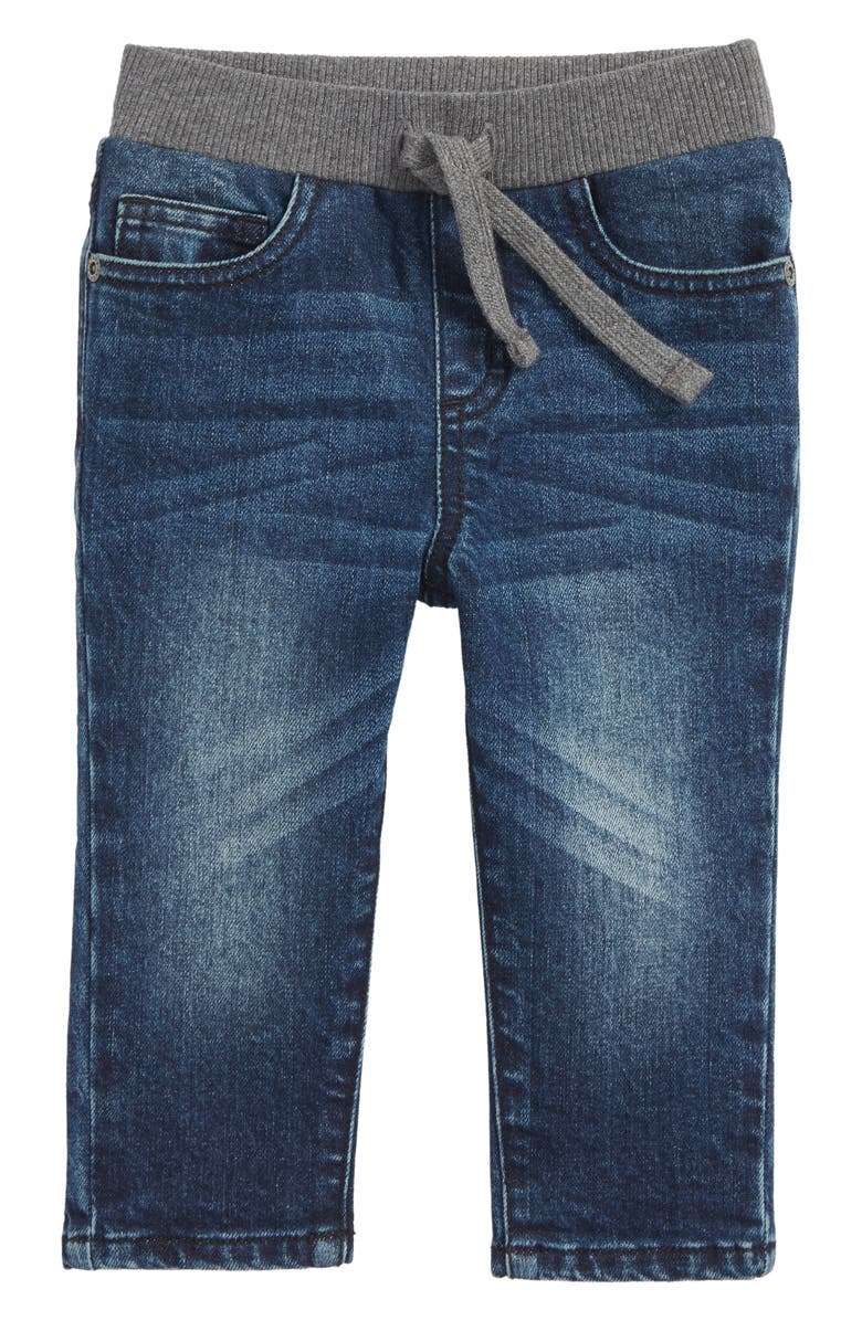 TUCKER + TATE Knit Waist Jeans, Main, color, GRANBY WASH