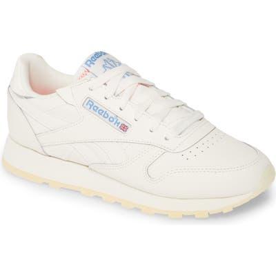 Reebok Classic Leather Sneaker, White