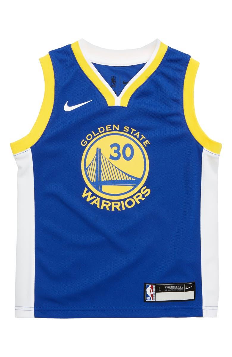 brand new 400b5 a29dd Golden State Warriors Steph Curry Basketball Jersey