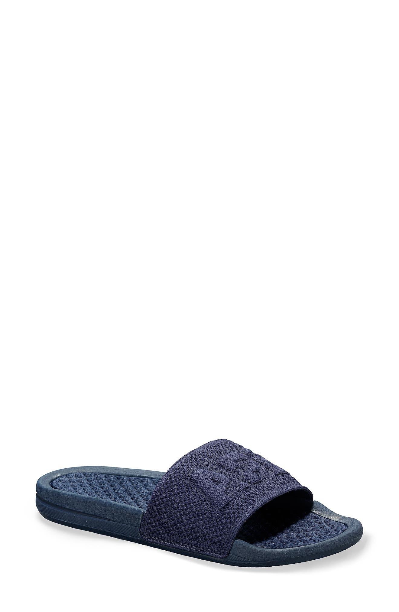 Big Logo Techloom Knit Sport Slide