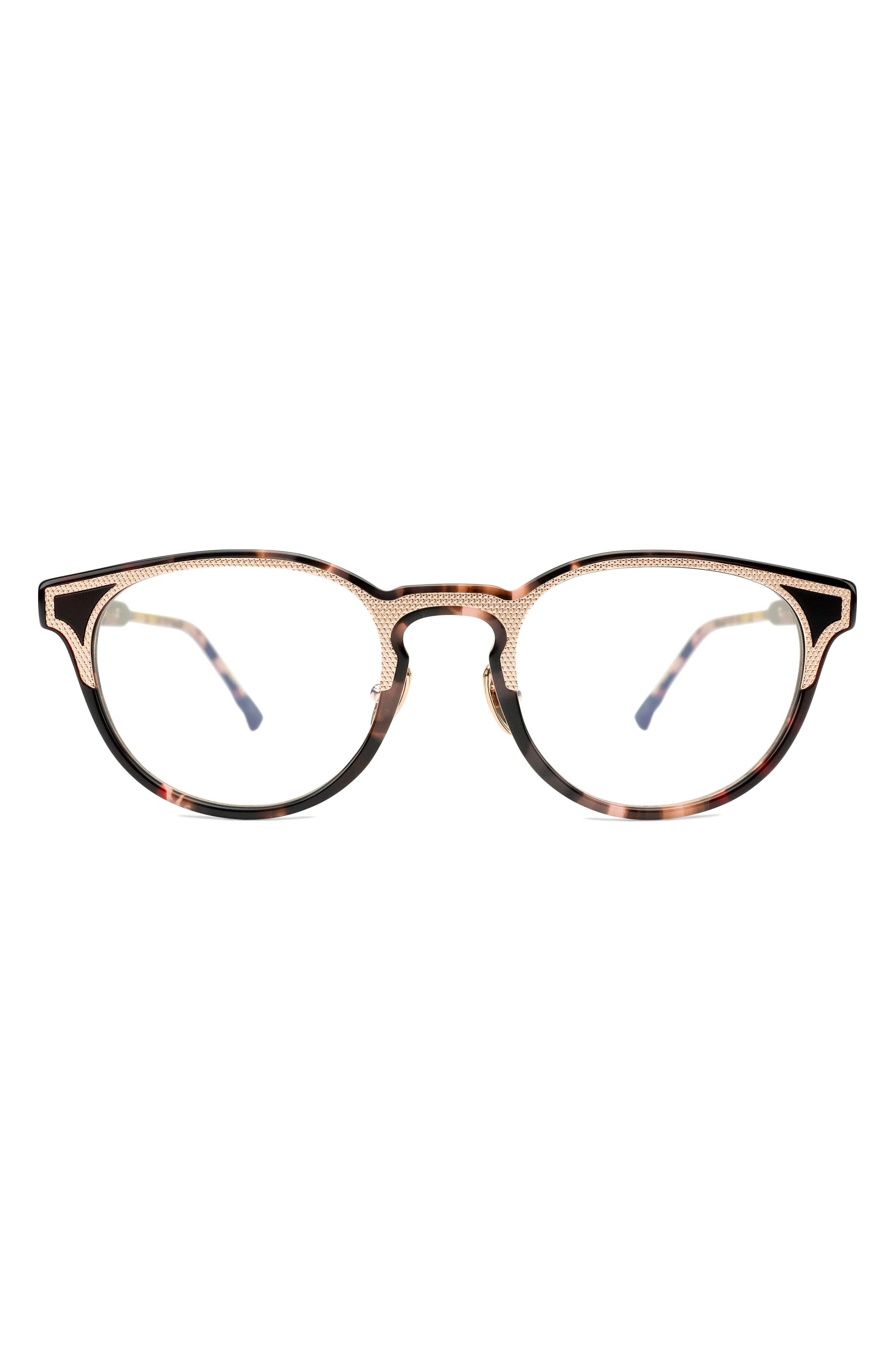 Spirit 49mm Round Blue Light Glasses