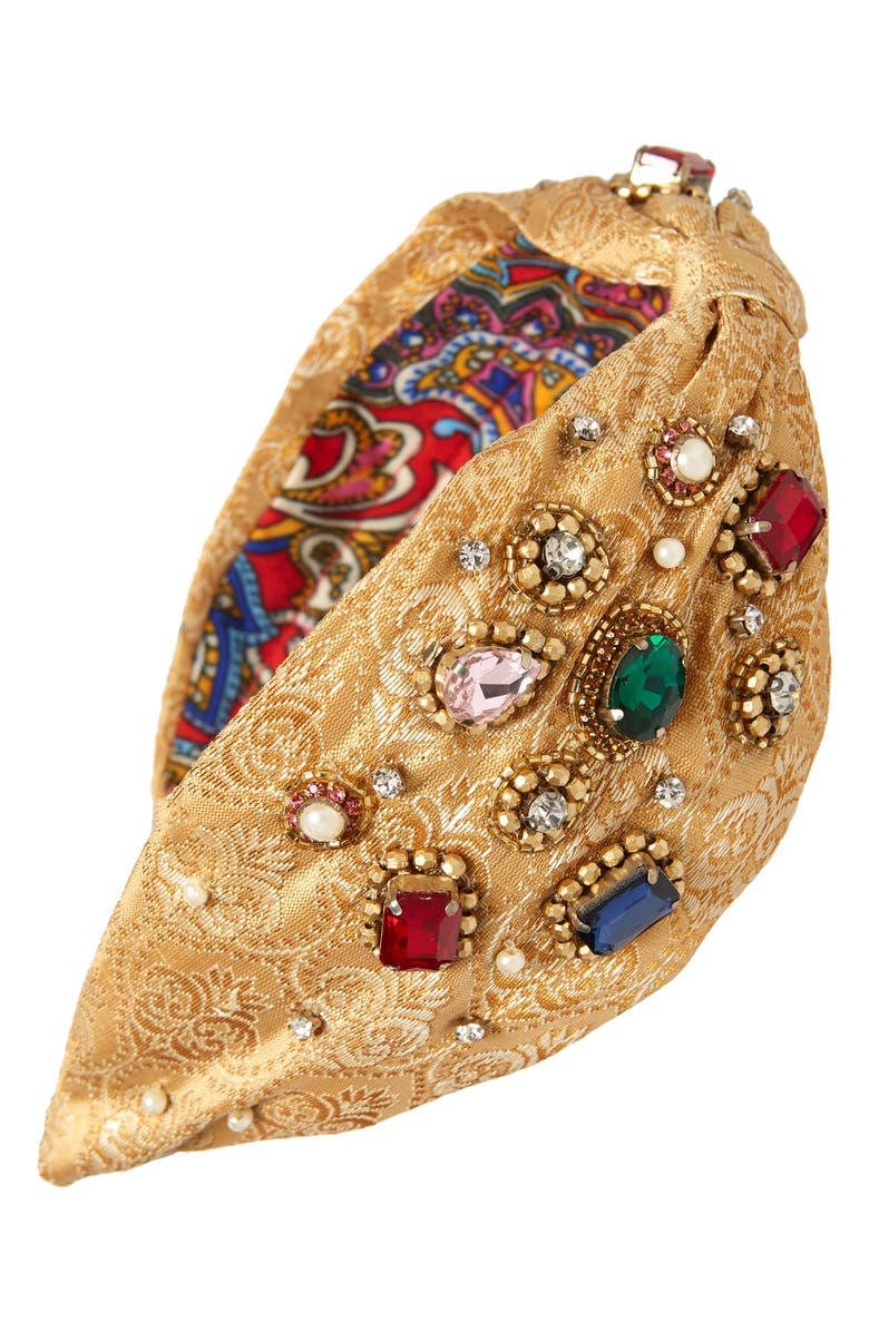 NAMJOSH Jewel Encrusted Headband, Main, color, 710