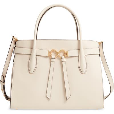 Kate Spade New York Large Toujours Leather Satchel - Ivory