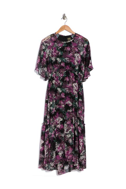 Image of Taylor Floral Print Dress
