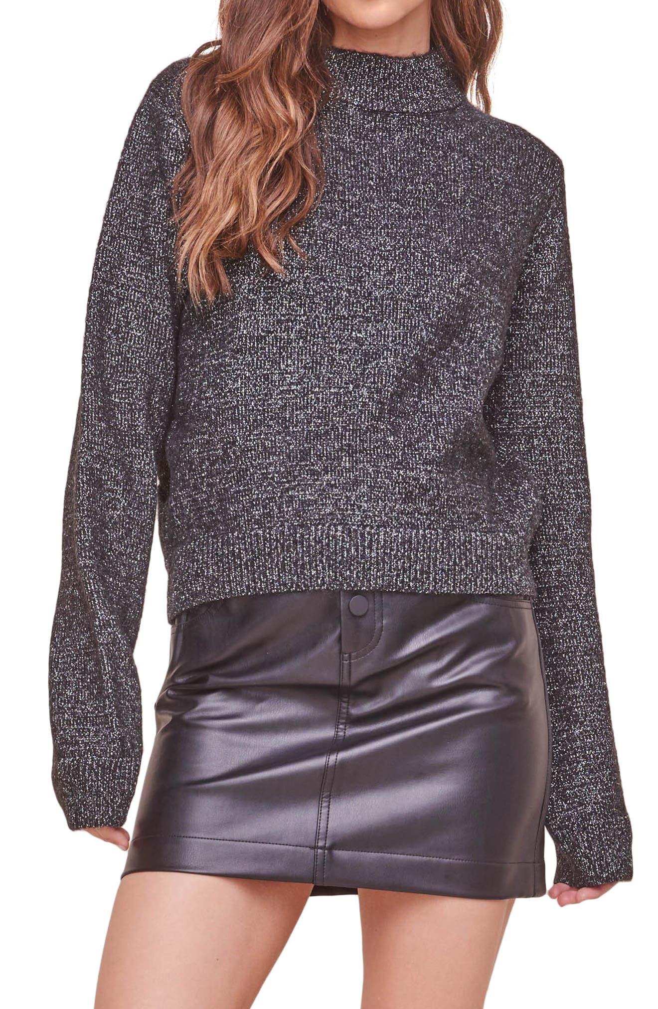 Arabella Mock Neck Sweater