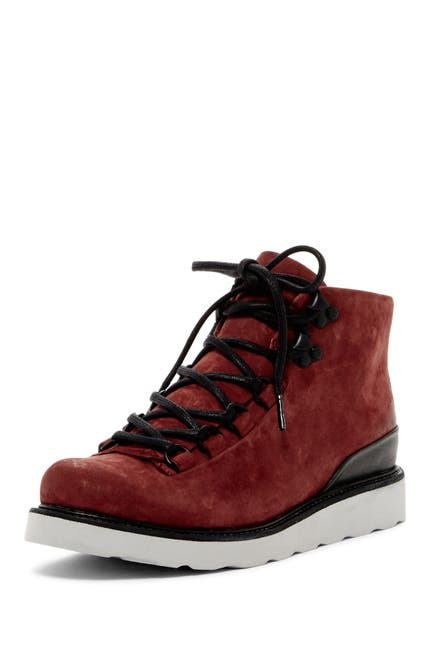 Image of Blackstone Leather Lace-Up Boot