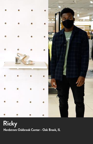 Naomi Crystal Embellished Sandal, sales video thumbnail