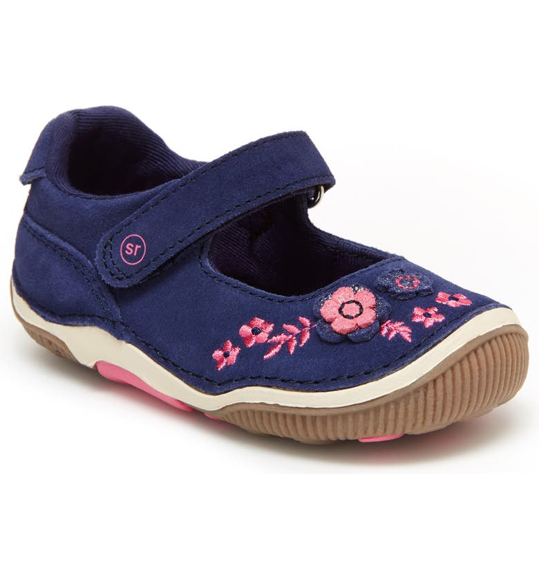 STRIDE RITE Charlie SRtech<sup>™</sup> Mary Jane, Main, color, NAVY