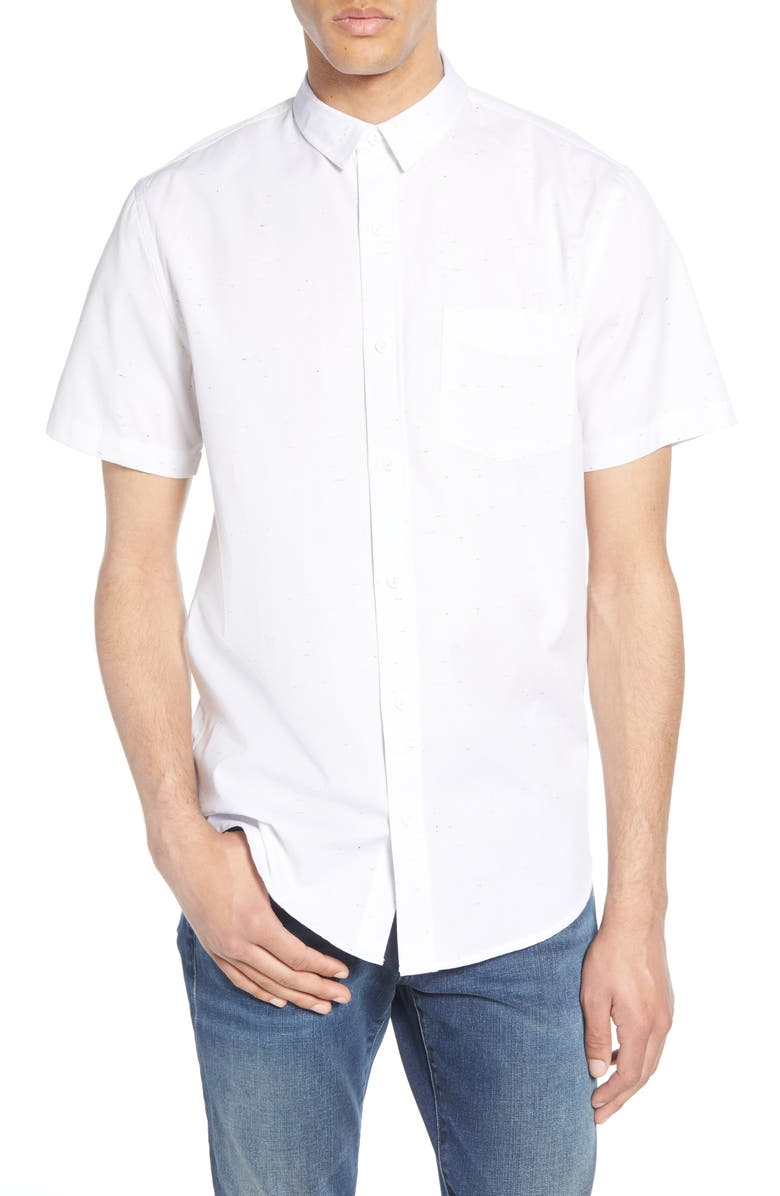 BP Nep Short Sleeve Button Up Shirt