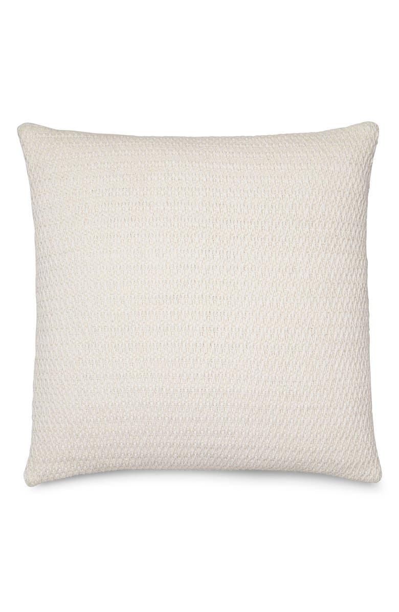 CALVIN KLEIN HOME Mia Accent Pillow, Main, color, CREAM/ WHITE