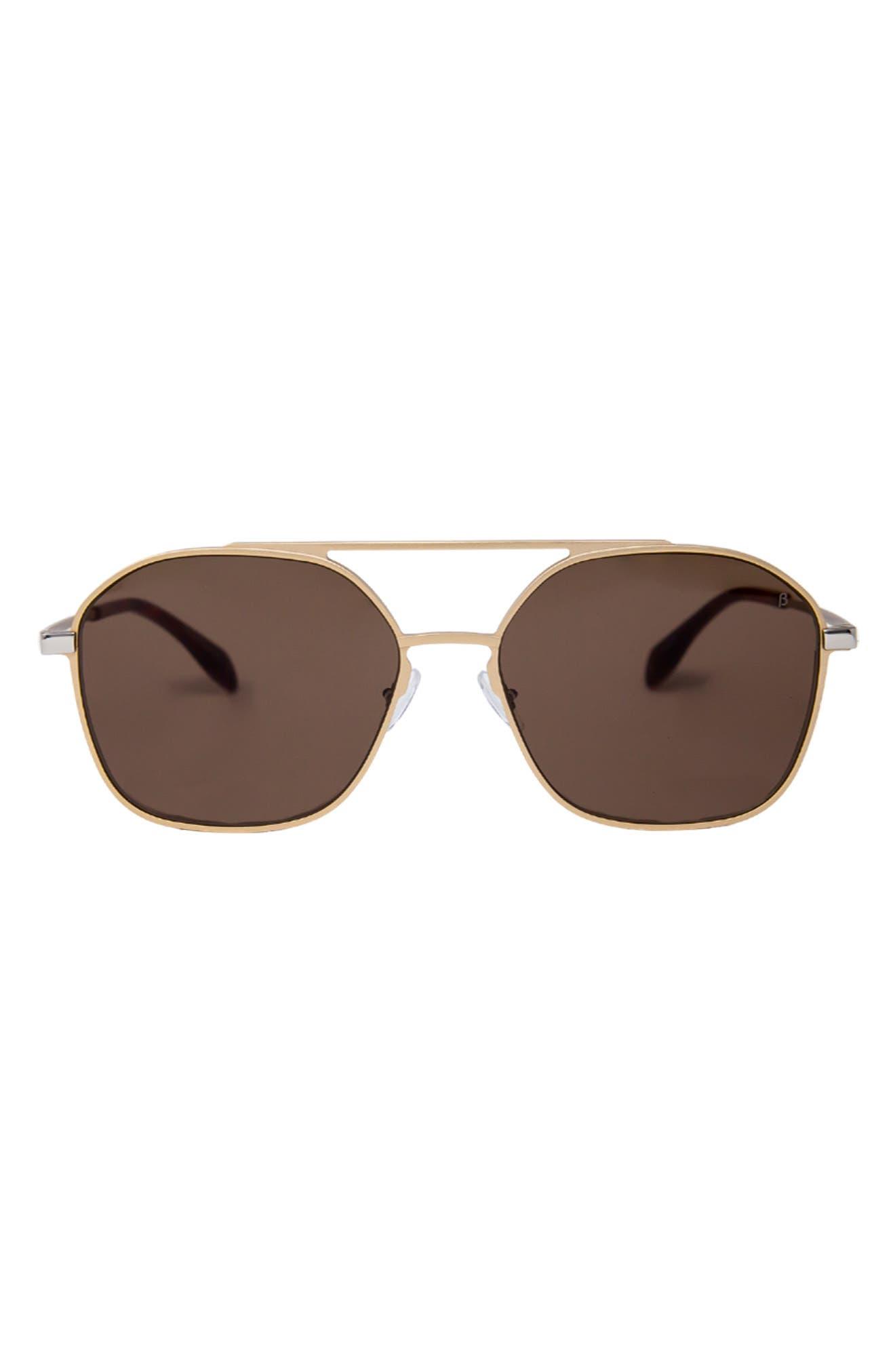 Duomo 58mm Aviator Sunglasses