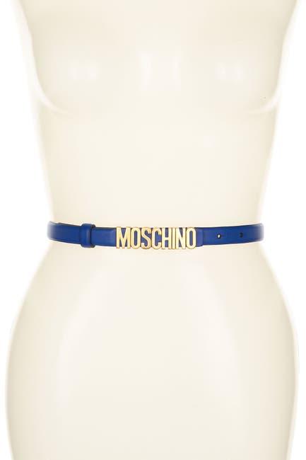 Image of MOSCHINO Logo Belt
