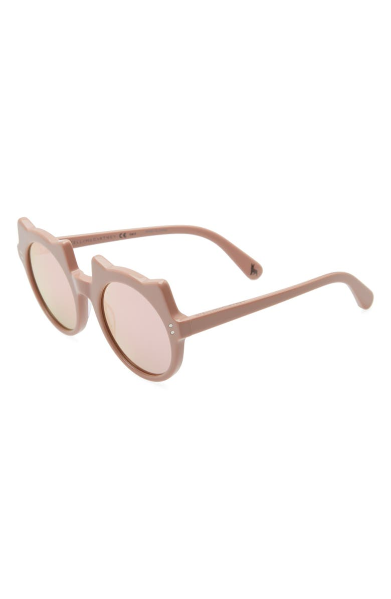 STELLA MCCARTNEY KIDS 48mm Cat Sunglasses, Main, color, 651