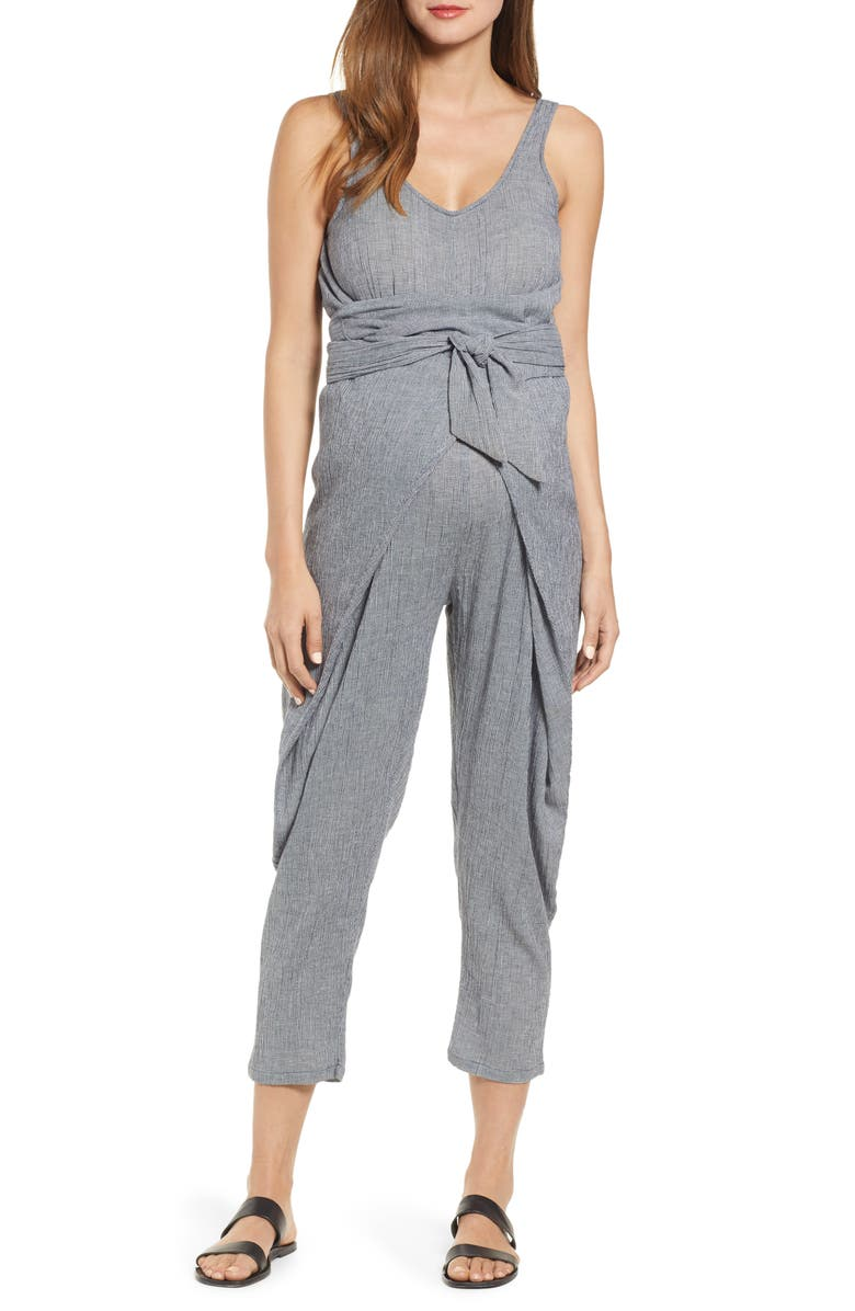HATCH Wraparound Jumpsuit, Main, color, 400
