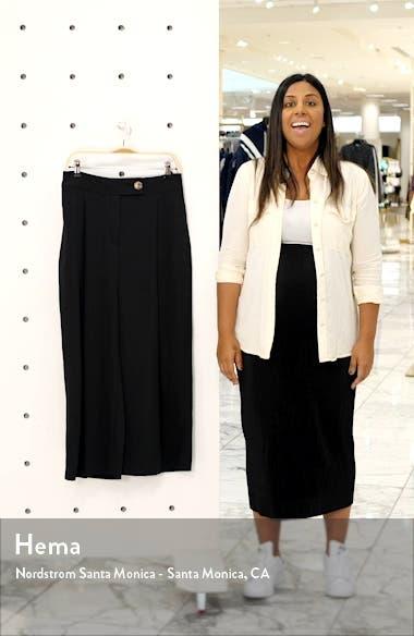 Anita Wide Leg Cropped Trousers, sales video thumbnail