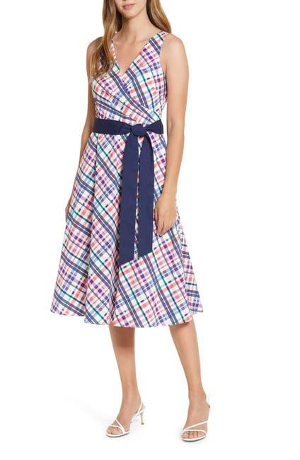 Image of Eliza J Sleeveless Printed Midi Dress