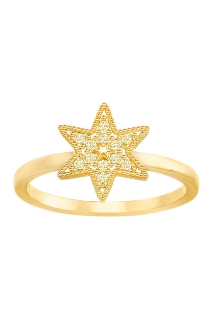 Image of Swarovski Field Star Swarovski Crystal Ring - Size 6
