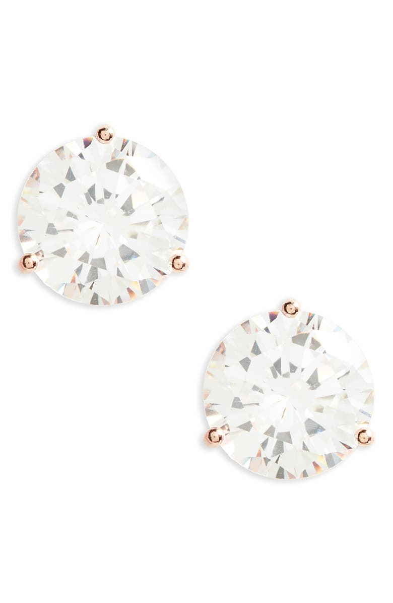 bc185fe98 8.0ct tw Cubic Zirconia Earrings, Main, color, CLEAR- ROSE GOLD