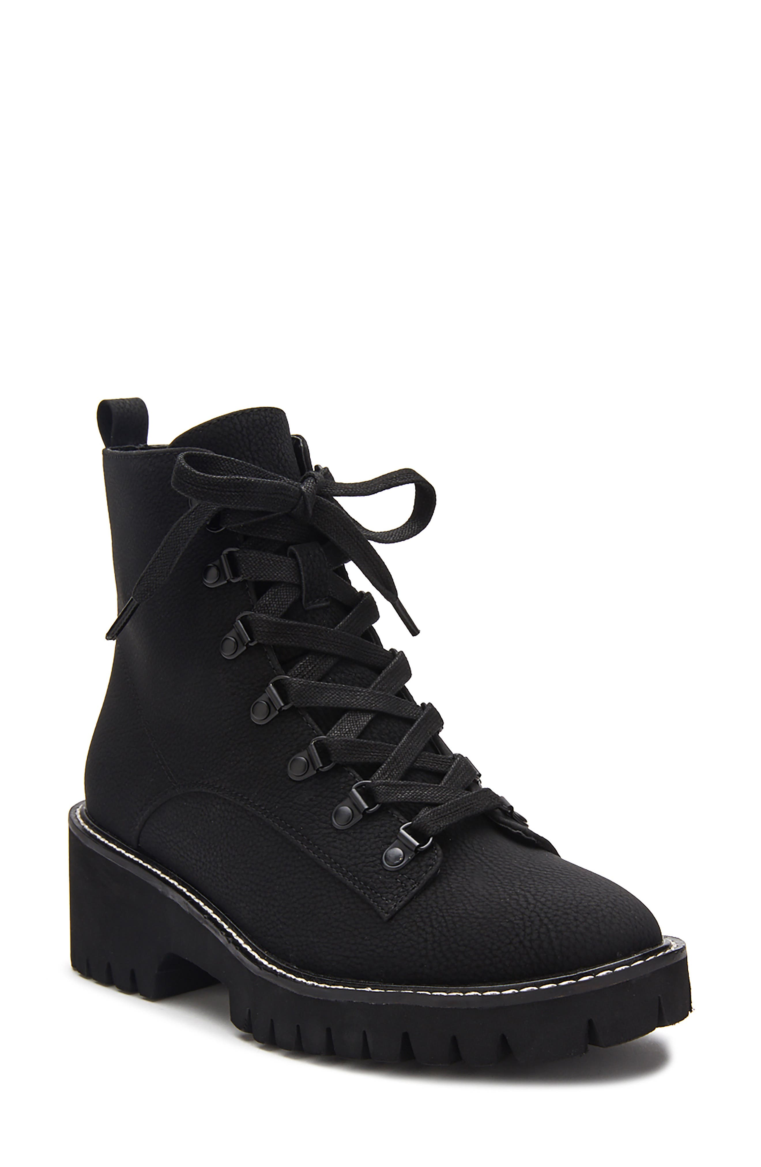 No Plans Lace-Up Boot
