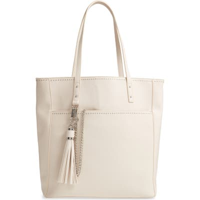 Steve Madden Bkay Faux Leather Tote - Ivory