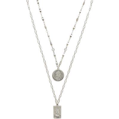 Ettika Set Of 2 Pendant Necklaces