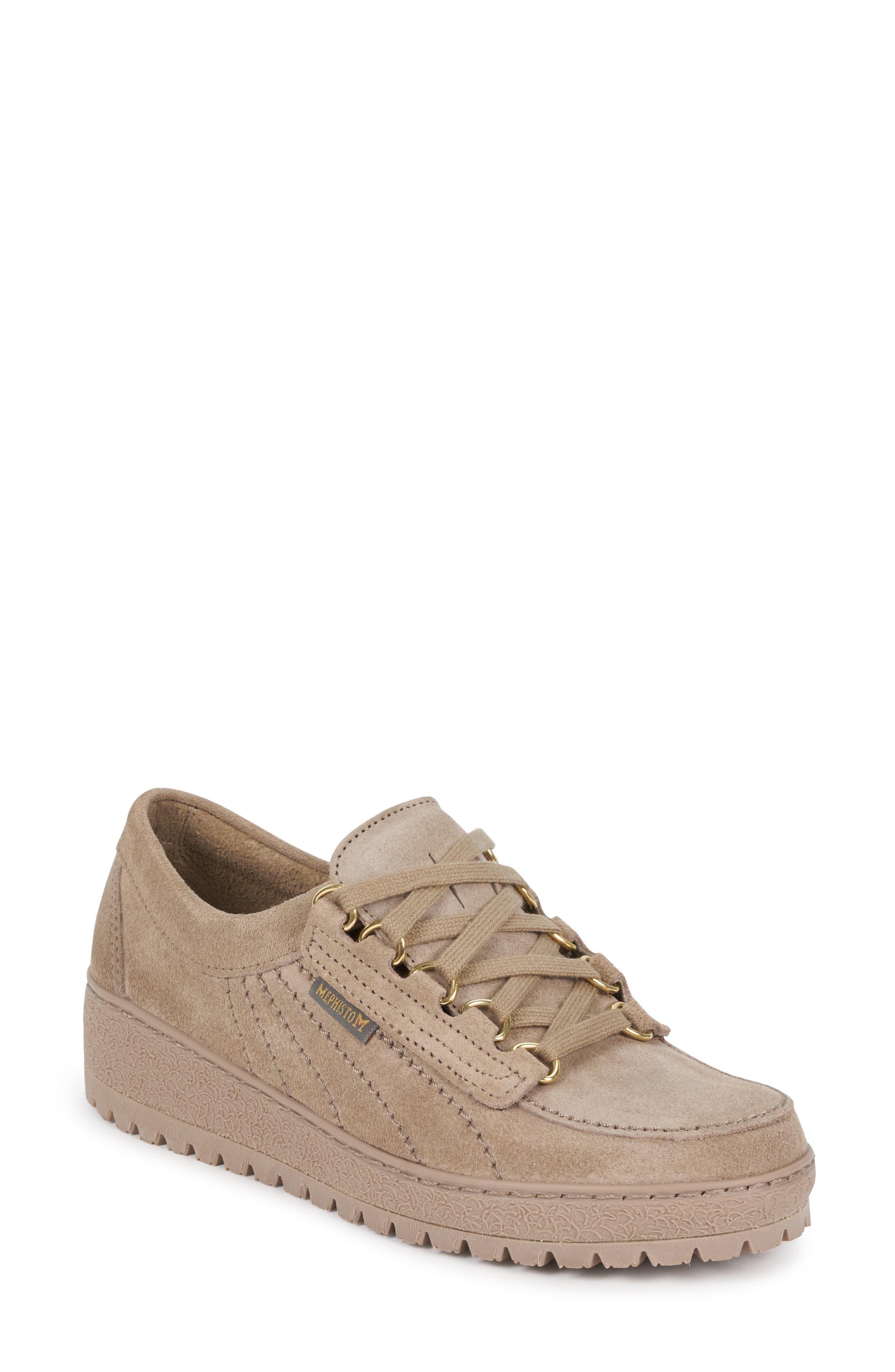 Mephisto Lady Low Top Sneaker- Beige